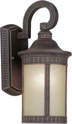 Photon 1-Light 16.25'' Painted Rust Outdoor Lantern