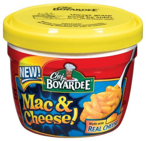 Chef Boyardee Mac & Cheese 14 5 oz Microwave Bowl