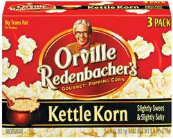 Orville Redenbacher's Kettle Korn Microwave Popcorn - 3-pk