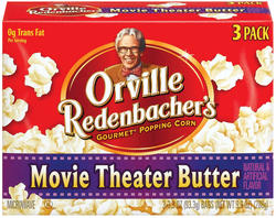 Orville Redenbacher's Movie Theater Butter Microwave Popcorn - 3-pk