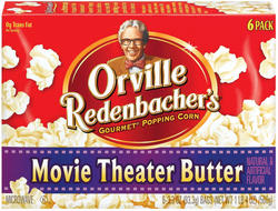 Orville Redenbacher's Movie Theater Butter Microwave Popcorn - 6-pk