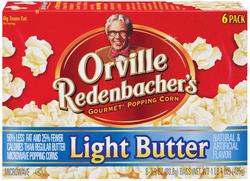 Orville Redenbacher's Light Butter Microwave Popcorn - 6-pk
