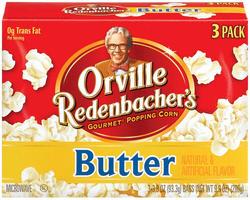 Orville Redenbacher's Butter Microwave Popcorn - 3-pk