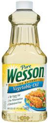 Wesson Vegetable Oil - 48 oz
