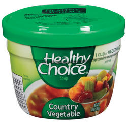 Healthy Choice Country Vegetable Soup - 14-oz Microwave Bowl