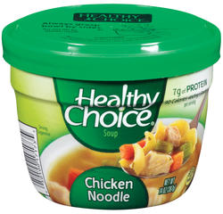 Healthy Choice Chicken Noodle Soup - 14-oz Microwave Bowl