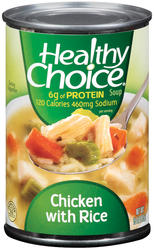 Healthy Choice Chicken with Rice Soup - 15 oz