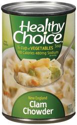 Healthy Choice New England Clam Chowder Soup - 15 oz