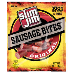 Slim Jim Original Sausage Bites - 4 oz