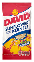 DAVID Sunflower Kernels - 3.75 oz