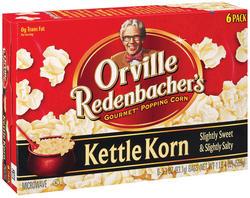 Orville Redenbacher's Kettle Korn Microwave Popcorn - 6-pk
