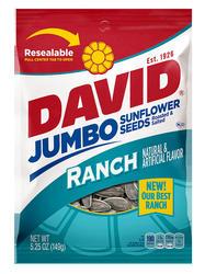 DAVID Ranch Sunflower Seeds - 5.25 oz