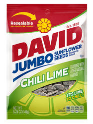 DAVID Chili Lime Sunflower Seeds - 5.25 oz