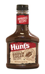 Hunt's Hickory & Brown Sugar Barbecue Sauce - 18 oz
