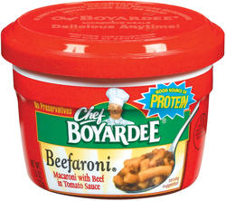 Chef Boyardee Beefaroni - 7.5-oz Microwave Bowl