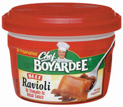 Chef Boyardee Beef Ravioli - 7.5-oz Microwave Bowl