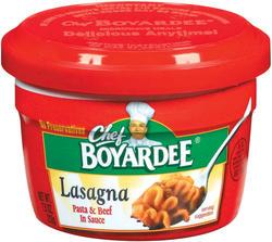 Chef Boyardee Lasagna - 7.5-oz Microwave Bowl