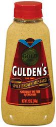 Gulden's Spicy Brown Mustard - 12 oz
