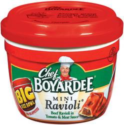 Chef Boyardee Beef Ravioli - 14.25-oz Microwave Bowl