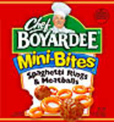 Chef Boyardee Mini-Bites Spaghetti Rings & Meatballs - 15 oz
