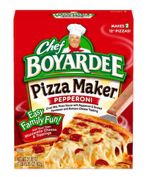 Chef Boyardee Pepperoni Pizza Maker Kit - 31.85 oz