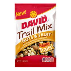 DAVID Nuts & Fruit Trail Mix - 5 oz