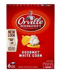 Orville Redenbacher's White Microwave Popcorn - 6-pk