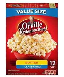 Orville Redenbacher's Butter Microwave Popcorn - 12-pk