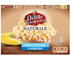 Orville Redenbacher's Naturals Simply Salted Microwave Popcorn - 3-pk
