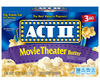 Act II Movie Theater Butter Microwave Popcorn - 3-pk