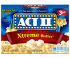 Act II Butter Lovers Microwave Popcorn - 3-pk