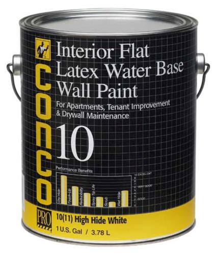 Conco 10 Flat Water Based Interior Latex Wall Paint 1 Gal At Menards