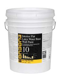 Conco 10 Flat Water-Based Interior Latex Wall Paint - 5 gal.