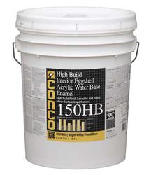 Conco 150HB High-Build Eggshell Bright White/Pastel Water-Based Interior Acrylic Enamel - 5 gal.