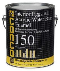 Conco 150 Eggshell Water-Based Interior Acrylic Enamel - 1 gal.