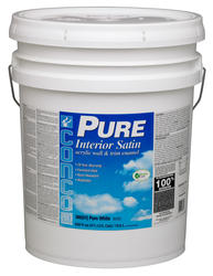 Conco PURE Satin White/Pastel Interior Acrylic Wall & Trim Enamel - 5 gal.