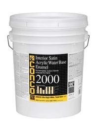 Conco 2000 Satin Water-Based Interior Acrylic Enamel - 5 gal.