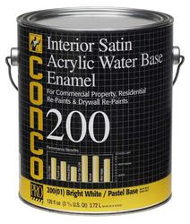 Conco 200 Satin Water-Based Interior Acrylic Enamel - 1 gal.