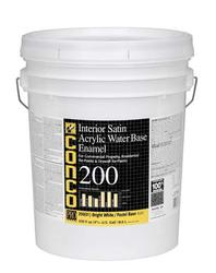 Conco 200 Satin Water-Based Interior Acrylic Enamel - 5 gal.
