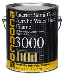 Conco 3000 Semi-Gloss Water-Based Interior Acrylic Enamel - 1 gal.