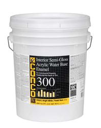 Conco 300 Semi-Gloss Water-Based Interior Acrylic Enamel - 5 gal.