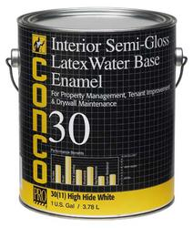Conco 30 Semi-Gloss Water-Based Interior Latex Enamel - 1 gal.