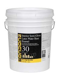 Conco 30 Semi-Gloss Water-Based Interior Latex Enamel - 5 gal.