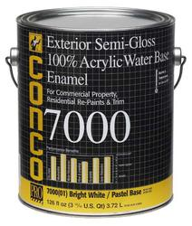 Conco 7000 Semi-Gloss Water-Based Exterior 100% Acrylic Enamel - 1 gal.