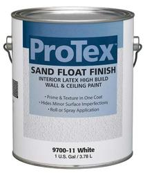 ProTex White Sand Float Finish Interior Latex Wall & Ceiling Paint - 1 gal.