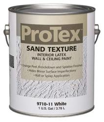 ProTex White Sand Texture Interior Latex Wall & Ceiling Paint - 1 gal.