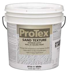 ProTex White Sand Texture Interior Latex Wall & Ceiling Paint - 2 gal.