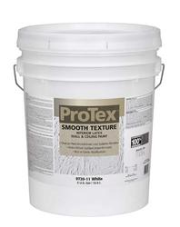 ProTex White Smooth Texture Interior Latex Wall & Ceiling Paint - 5 gal.