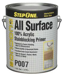 Conco P007 Interior/Exterior All-Surface Stainblocking Acrylic Primer - 1 gal.