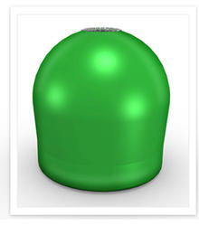 Conneticut Electric Aqua Lantern Solar Lighted Green Marker Buoy